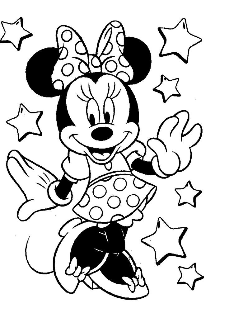 Mickey Mouse Train Coloring Pages Coloring Pages
