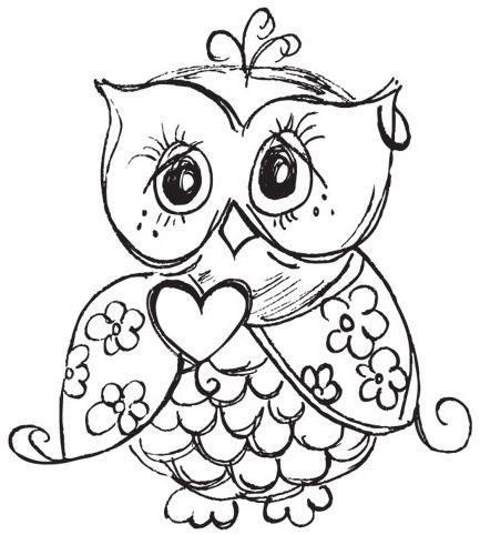 Decisive image regarding printable owl coloring pages